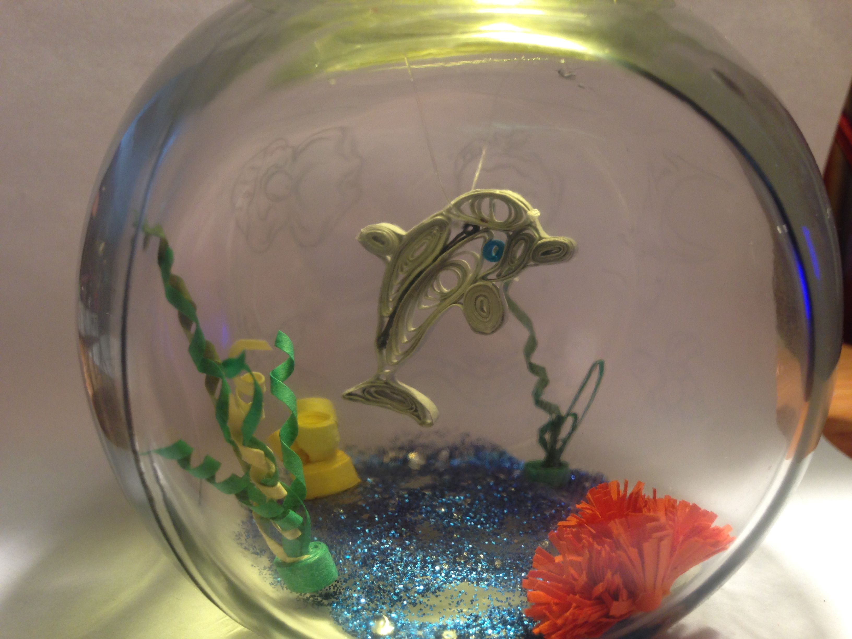 Sea Life in a Fishbowl