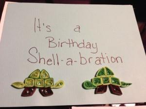 Birthday Shell-a-bration